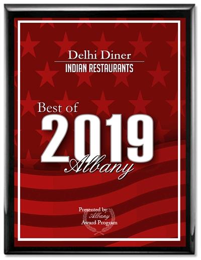 Delhi Diner - Best of Albany Award